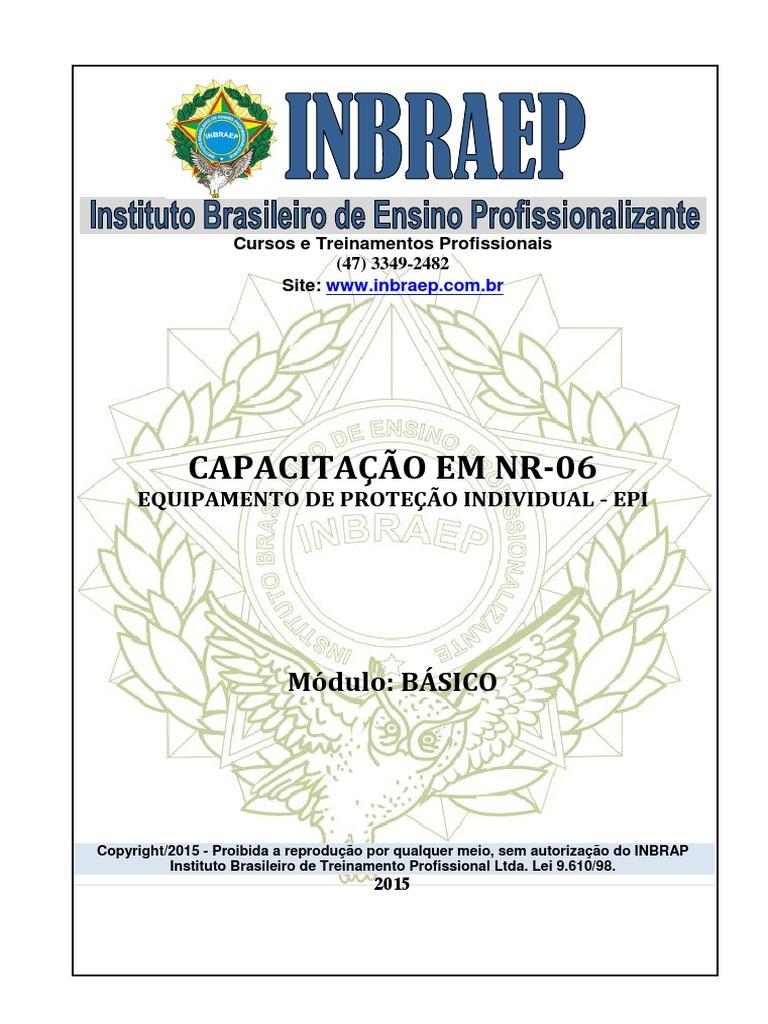 b24bffacb Apostila Completa NR-06 EPI