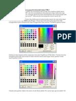 Cara Menghitung Kode Warna