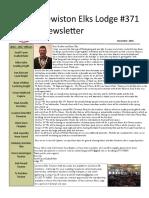 December Newsletter 2016