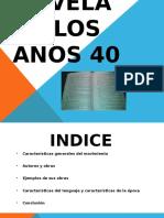 NOVELA EN LOS AÑOS 40 (1).pptx