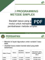 LP 03 Simplex
