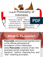 State Philosophy of Indonesia