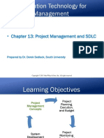 Chapter 13 Project Management and SDLC