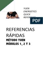 GUÍA RÁPIDA MÉTODO YUEN-MÓDULOS 1, 2 Y 3