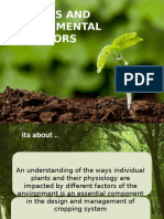 03. Plants and Environment Factors -The Plant