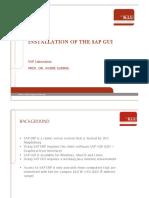 03 SAP Installation Slides