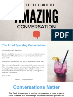 The Little Guide to Amazing Conversation