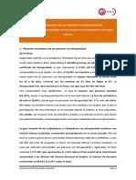 Día Internacional de Las Personas Con Discapacidad Informe