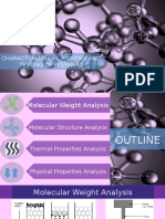 Polymer Characterization - Ppt