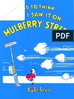 1938 - And To Think That I Saw It On Mulberry Street - Dr. Seuss.pdf
