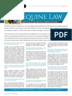 Interview Equine Lawyer Blenheim Advocaten
