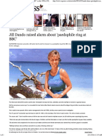 Jill Dando Raised Alarm About 'Paedophile Ring at BBC' in the 1990s _ UK _ News _ Daily Express - Copy (2)