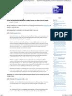 Climate Modification Schemes -