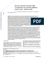 jurnal domestikasi ikan bahasa inggris