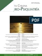 Revista Chilena Neuro Psiquiatria v50 n3 Julio Septiembre 2012