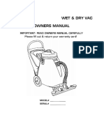 Viper TP18WD - Owners Manual