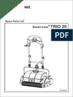 Whittaker Smart Care TRIO 20 Spare Parts Manual Rev 7-10-14