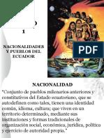 UNIDAD 1 Nacionalidades y Pueblos