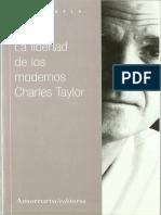 Taylor Charles - La Libertad De Los Modernos.pdf