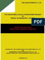 Structural Design of Penstock