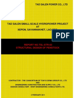 Structural Design of Penstock