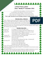 05.12.16 Christmas Information