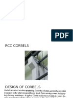 Design of Corbel
