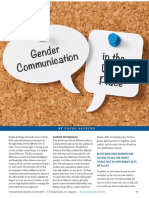 Gender Communication in the Workplace (Jun 13)