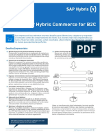 Sap Hybris Commers for b2c