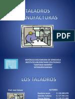Taladros Industriales - Procesos de Manufactura