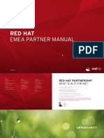 Redhat Partner Manual