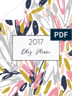 Whatmommydoes 2017 Blog Planner