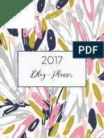 Whatmommydoes 2017 Blog Planner