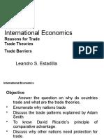 Topic 7 - International Economics