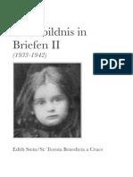 03 EdithSteinGesamtausgabe SelbstbildnisInBriefen II 1933 1942