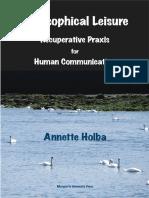 Holba Annette Philosophical Leisure