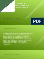Analisis de La Cadena de Suministros en Las