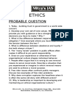Ethics Probable Question