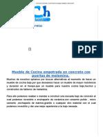 Cocina de concreto _ Como hacer bricolage muebles y decoración.pdf