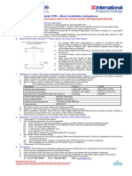 Chartek 1709 Basic Instsllation Instructions