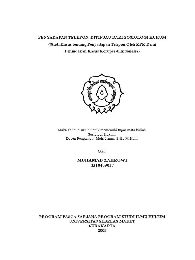 42883014 Sosiologi Hukum Doc