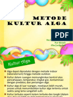 Metode Kultur Alga