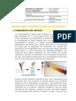 Extracción e Identificación de Colorantes Artificiales