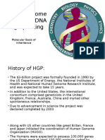 Human Genome Project and DNA Fingerprinting