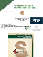 Enfermedades asociadas al comportamiento suicida y Código S .ppt
