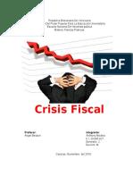 Crisis Fiscal