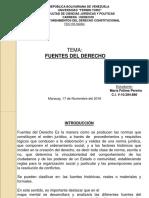 Maria Pereira. c.i 10284886. Fuentes Del Derecho