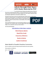 System Analysis Through State Space Model - GATE Study Material in PDF.compressed