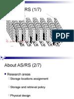 ASRS Storage Location