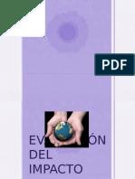Evaluación del impacto